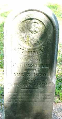 HULSTINE, JEMIMA - Montgomery County, Ohio   JEMIMA HULSTINE - Ohio Gravestone Photos