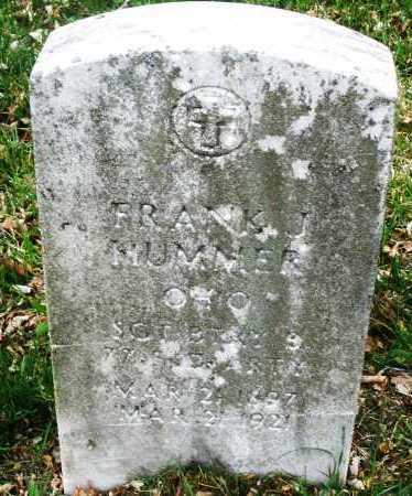 HUMMER, FRANK J. - Montgomery County, Ohio   FRANK J. HUMMER - Ohio Gravestone Photos