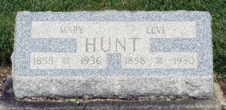 HUNT, MARY - Montgomery County, Ohio | MARY HUNT - Ohio Gravestone Photos