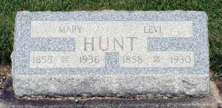 HUNT, LEVI - Montgomery County, Ohio | LEVI HUNT - Ohio Gravestone Photos