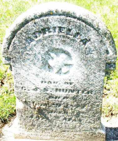 HUNTER, ADRIELLA - Montgomery County, Ohio | ADRIELLA HUNTER - Ohio Gravestone Photos