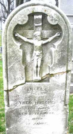 HUSCHE, ANGELA - Montgomery County, Ohio   ANGELA HUSCHE - Ohio Gravestone Photos