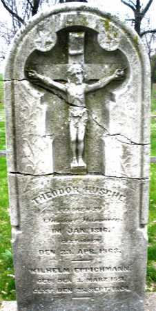 HUSCHE, THEODOR - Montgomery County, Ohio | THEODOR HUSCHE - Ohio Gravestone Photos