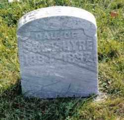 HYRE, ISABEL - Montgomery County, Ohio | ISABEL HYRE - Ohio Gravestone Photos