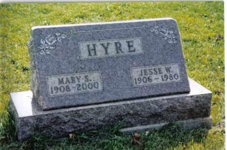 HYRE, JESSE W. - Montgomery County, Ohio | JESSE W. HYRE - Ohio Gravestone Photos