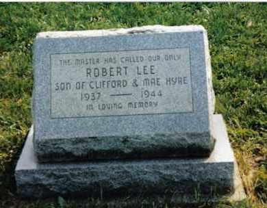 HYRE, ROBERT LEE - Montgomery County, Ohio   ROBERT LEE HYRE - Ohio Gravestone Photos