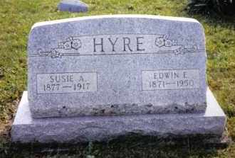 HYRE, SUSIE A. - Montgomery County, Ohio | SUSIE A. HYRE - Ohio Gravestone Photos