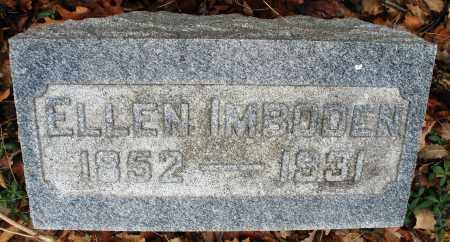 IMBODEN, ELLEN - Montgomery County, Ohio   ELLEN IMBODEN - Ohio Gravestone Photos