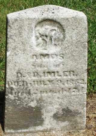 IMLER, AMOS - Montgomery County, Ohio   AMOS IMLER - Ohio Gravestone Photos