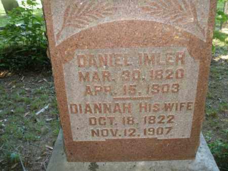 IMLER, DIANNAH - Montgomery County, Ohio   DIANNAH IMLER - Ohio Gravestone Photos