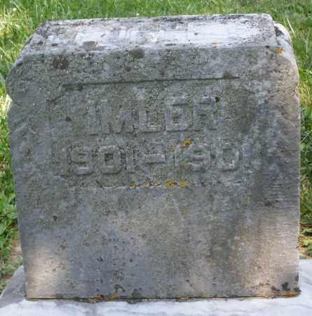 IMLER, INFANT - Montgomery County, Ohio | INFANT IMLER - Ohio Gravestone Photos