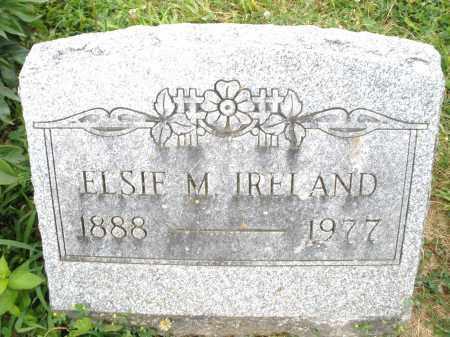 IRELAND, ELSIE M. - Montgomery County, Ohio | ELSIE M. IRELAND - Ohio Gravestone Photos