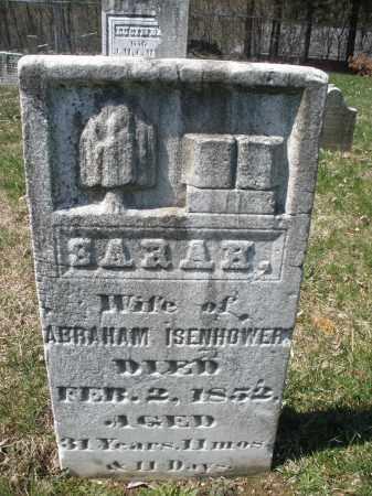 ISENHOWER, SARAH - Montgomery County, Ohio | SARAH ISENHOWER - Ohio Gravestone Photos