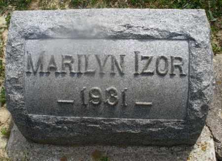 IZOR, MARILYN - Montgomery County, Ohio | MARILYN IZOR - Ohio Gravestone Photos