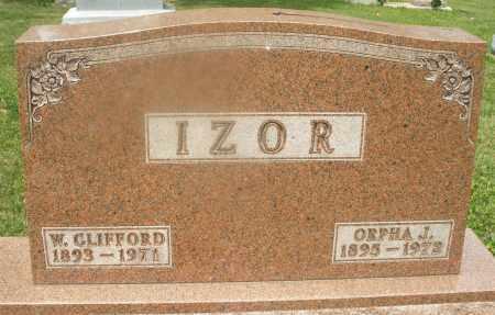 IZOR, ORPHA J. - Montgomery County, Ohio | ORPHA J. IZOR - Ohio Gravestone Photos