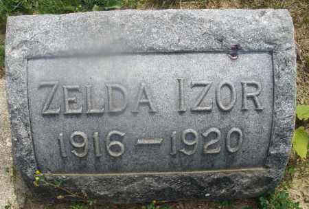 IZOR, ZELDA - Montgomery County, Ohio | ZELDA IZOR - Ohio Gravestone Photos