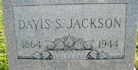 JACKSON, DAVIS S. - Montgomery County, Ohio   DAVIS S. JACKSON - Ohio Gravestone Photos