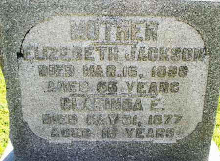JACKSON, CLARINDA E. - Montgomery County, Ohio   CLARINDA E. JACKSON - Ohio Gravestone Photos