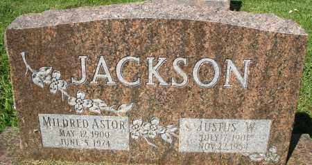 ASTOR JACKSON, MILDRED - Montgomery County, Ohio   MILDRED ASTOR JACKSON - Ohio Gravestone Photos