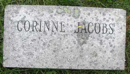 JACOBS, CORINNE - Montgomery County, Ohio | CORINNE JACOBS - Ohio Gravestone Photos