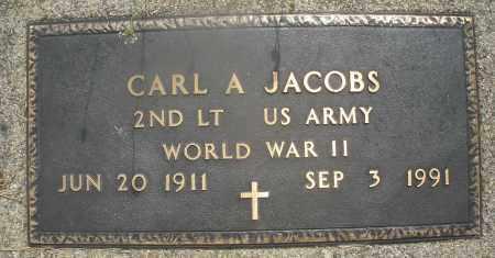 JACOBS, CARL A. - Montgomery County, Ohio | CARL A. JACOBS - Ohio Gravestone Photos