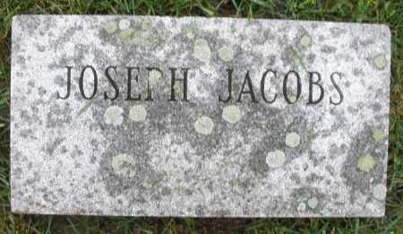 JACOBS, JOSEPH - Montgomery County, Ohio | JOSEPH JACOBS - Ohio Gravestone Photos