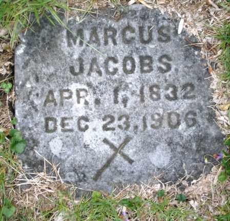 JACOBS, MARCUS - Montgomery County, Ohio | MARCUS JACOBS - Ohio Gravestone Photos