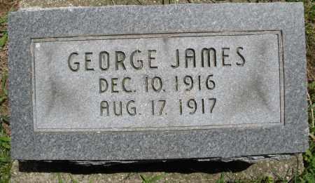JAMES, GEORGE - Montgomery County, Ohio   GEORGE JAMES - Ohio Gravestone Photos