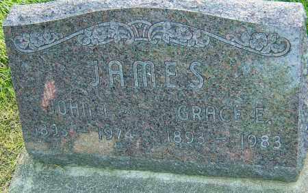 JAMES, GRACE E - Montgomery County, Ohio | GRACE E JAMES - Ohio Gravestone Photos