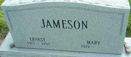 JAMESON, ERNEST - Montgomery County, Ohio   ERNEST JAMESON - Ohio Gravestone Photos