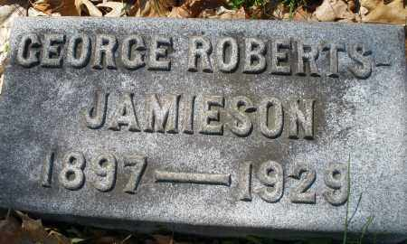 JAMIESON, GEORGE ROBERTS - Montgomery County, Ohio | GEORGE ROBERTS JAMIESON - Ohio Gravestone Photos