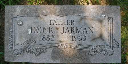 JARMAN, DOCK - Montgomery County, Ohio | DOCK JARMAN - Ohio Gravestone Photos