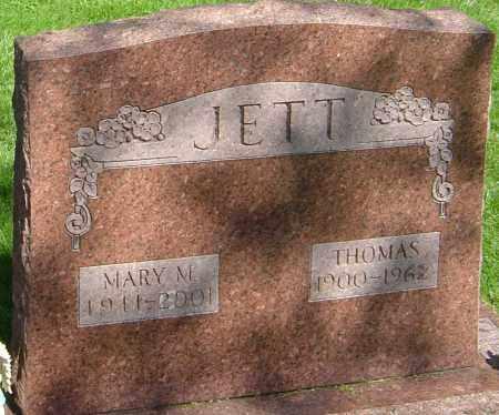 JETT, MARY - Montgomery County, Ohio | MARY JETT - Ohio Gravestone Photos