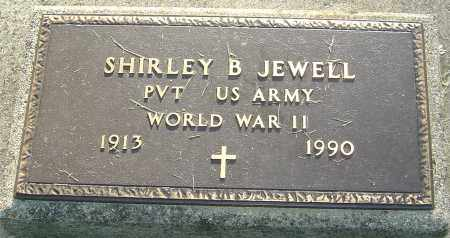 JEWELL, SHIRLEY B - Montgomery County, Ohio | SHIRLEY B JEWELL - Ohio Gravestone Photos