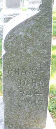 JOHN, CHARLES - Montgomery County, Ohio   CHARLES JOHN - Ohio Gravestone Photos