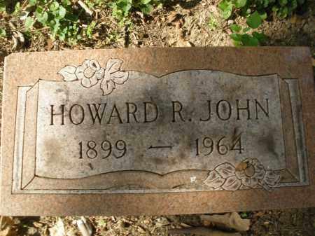 JOHN, HOWARD R. - Montgomery County, Ohio | HOWARD R. JOHN - Ohio Gravestone Photos