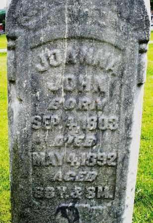 JOHN, JOANNA - Montgomery County, Ohio   JOANNA JOHN - Ohio Gravestone Photos