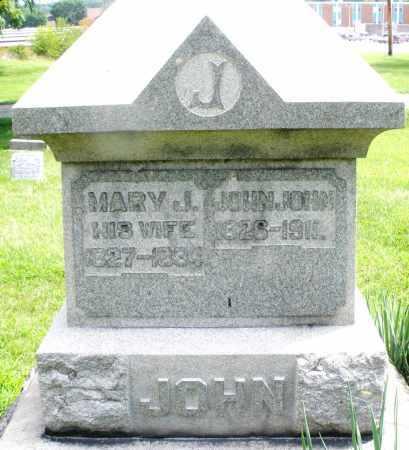 JOHN, JOHN - Montgomery County, Ohio | JOHN JOHN - Ohio Gravestone Photos