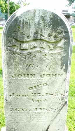 JOHN, MARY - Montgomery County, Ohio | MARY JOHN - Ohio Gravestone Photos
