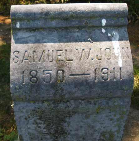 JOHN, SAMUEL W. - Montgomery County, Ohio   SAMUEL W. JOHN - Ohio Gravestone Photos