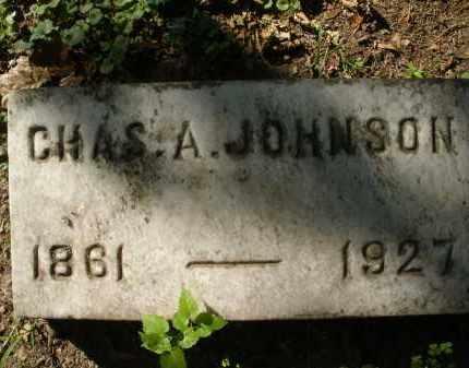 JOHNSON, CHARLES A. - Montgomery County, Ohio | CHARLES A. JOHNSON - Ohio Gravestone Photos