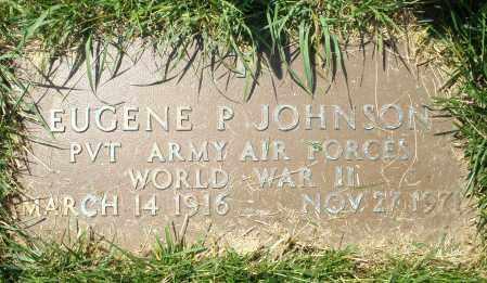 JOHNSON, EUGENE P. - Montgomery County, Ohio   EUGENE P. JOHNSON - Ohio Gravestone Photos