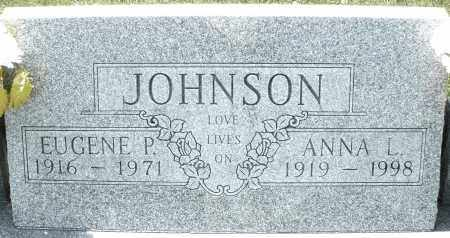 JOHNSON, EUGENE P. - Montgomery County, Ohio | EUGENE P. JOHNSON - Ohio Gravestone Photos