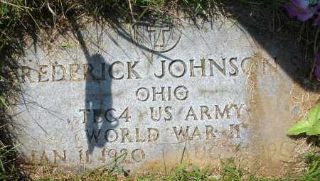 JOHNSON, FREDERICK - Montgomery County, Ohio | FREDERICK JOHNSON - Ohio Gravestone Photos