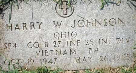 JOHNSON, HARRY W. - Montgomery County, Ohio | HARRY W. JOHNSON - Ohio Gravestone Photos