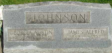 AUSTIN JOHNSON, GEORGIA - Montgomery County, Ohio | GEORGIA AUSTIN JOHNSON - Ohio Gravestone Photos