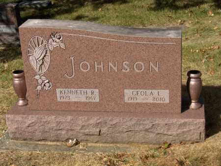 JOHNSON, KENNETH - Montgomery County, Ohio | KENNETH JOHNSON - Ohio Gravestone Photos