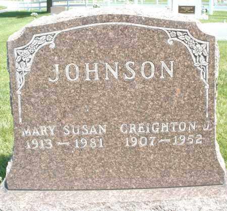 JOHNSON, MARY SUSAN - Montgomery County, Ohio | MARY SUSAN JOHNSON - Ohio Gravestone Photos