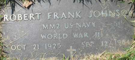 JOHNSON, ROBERT FRANK - Montgomery County, Ohio | ROBERT FRANK JOHNSON - Ohio Gravestone Photos