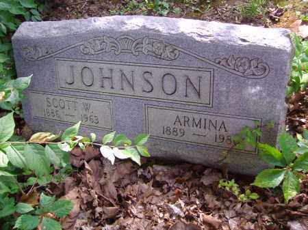 JOHNSON, SCOTT W - Montgomery County, Ohio   SCOTT W JOHNSON - Ohio Gravestone Photos